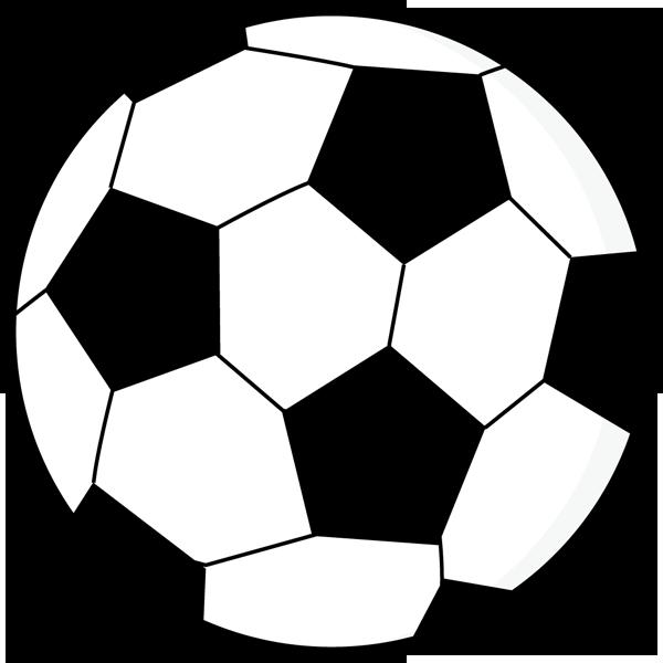スポーツ サッカーボール(モノクロ)