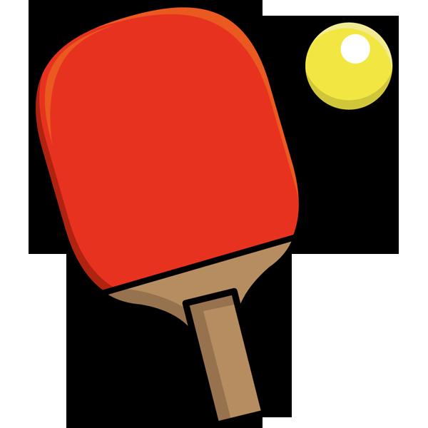 スポーツ 卓球(ラケット・ボール)(カラー)