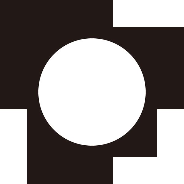 自然 晴れ(天気・太陽)(モノクロ)