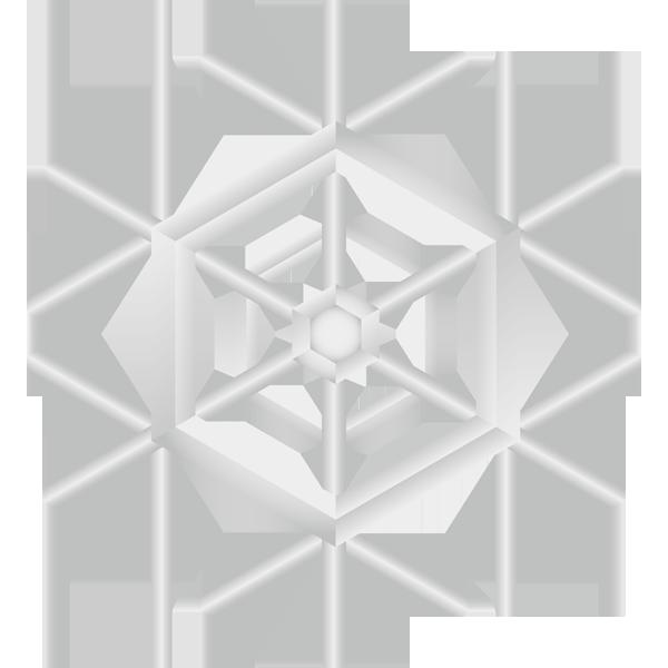 自然 雪(天気・雪の結晶)(カラー)