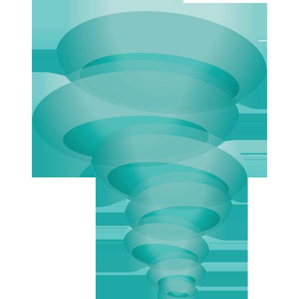 自然 台風(天気・竜巻)(カラー)
