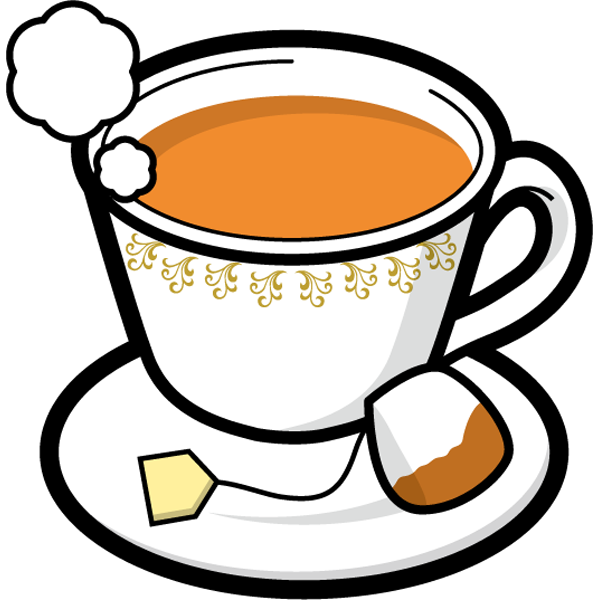 食品 紅茶(ホットティー)(カラー)