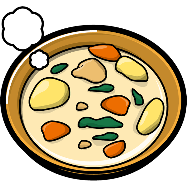 食品 クリームシチュー(カラー)