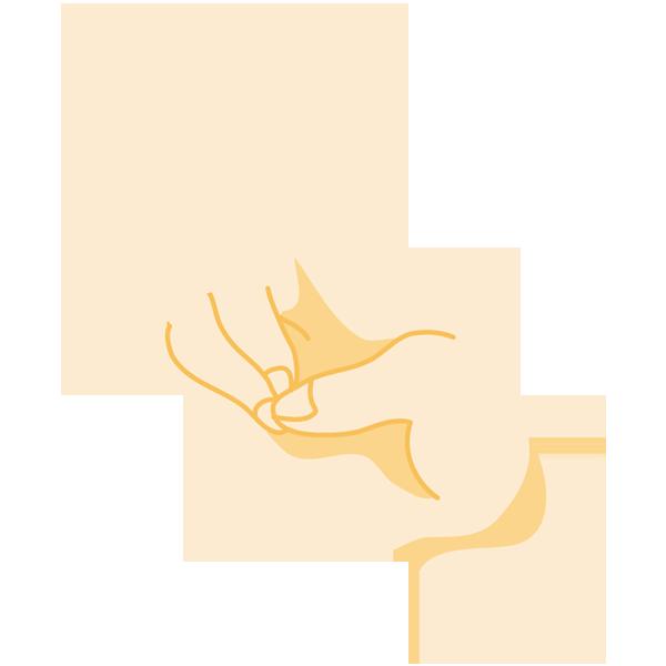 手(キツネサイン)(ナナメ)