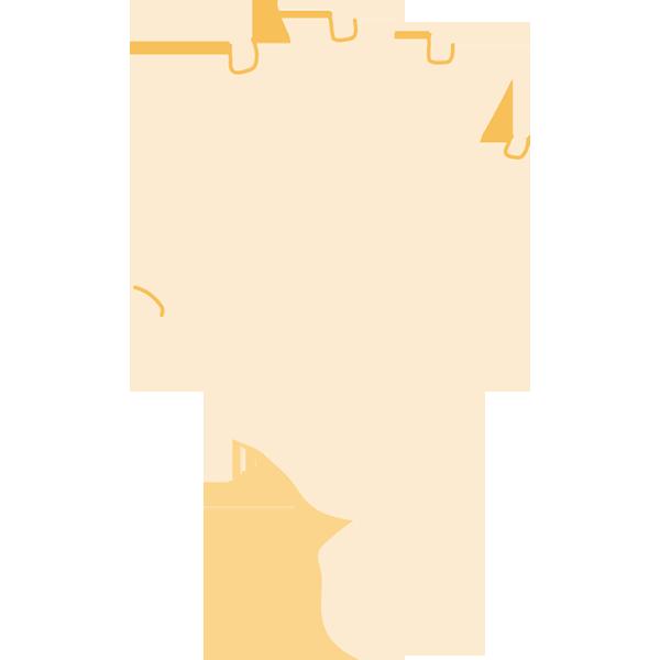 手(5/パー)(後ろ)