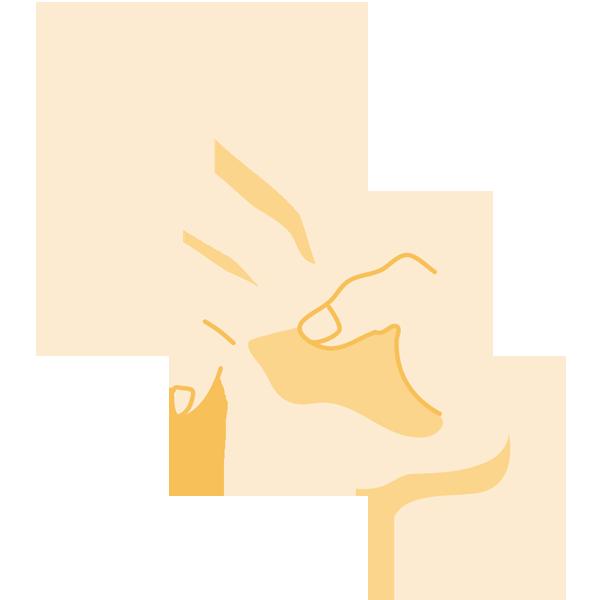 手(3)(ナナメ)