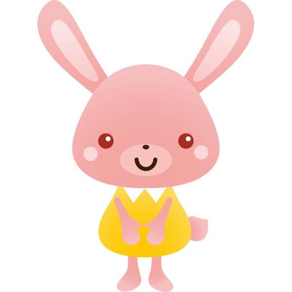 動物 卯(ウサギ)(カラー)