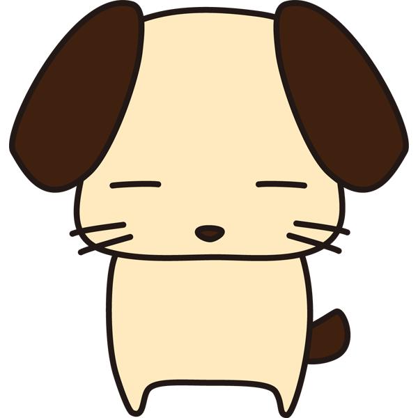 動物 戌(イヌ)(カラー)