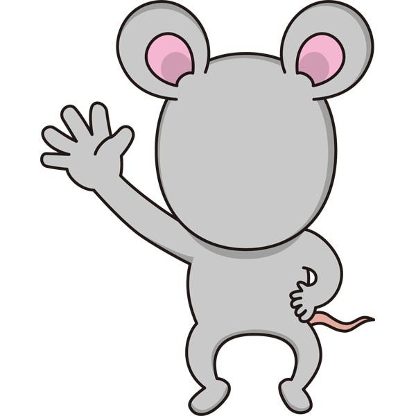 動物 干支の着ぐるみ(子・ネズミ)(カラー)