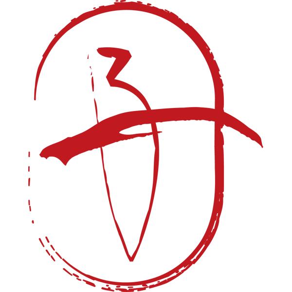 動物 干支の筆文字(子・ネズミ)(カラー)