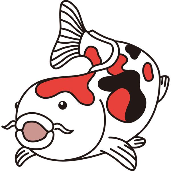 動物 魚(鯉)(カラー)