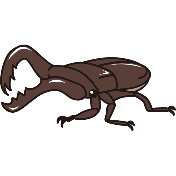 動物 虫(クワガタ)(カラー)