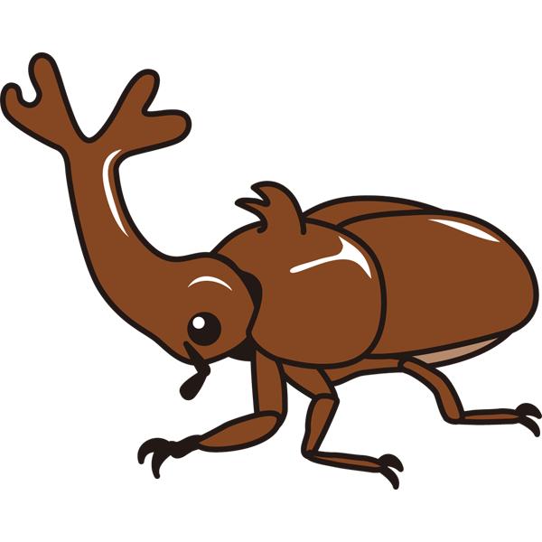 動物 虫(カブトムシ)(カラー)