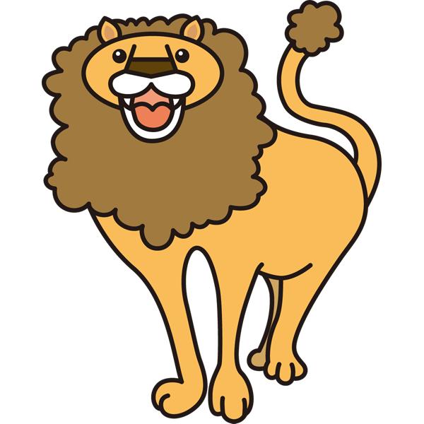 動物 ライオン(カラー)