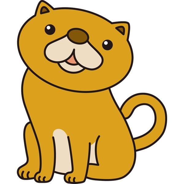 動物 ネコ(カラー)