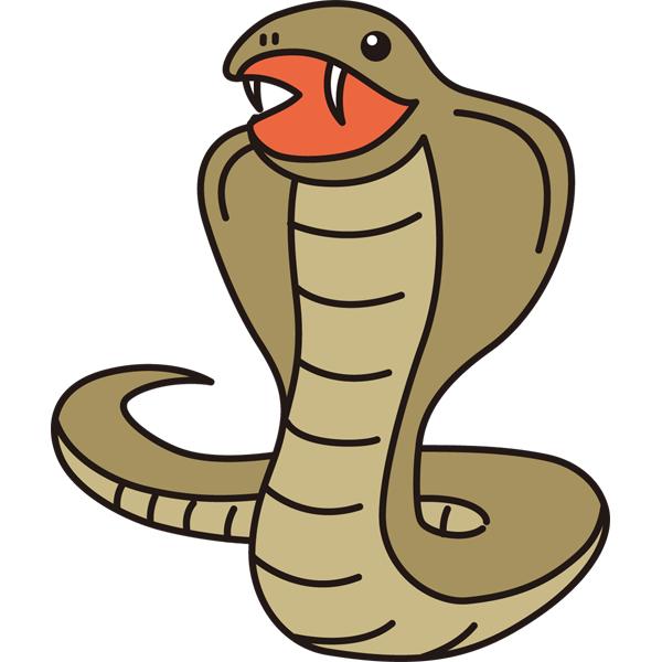 動物 ヘビ(カラー)