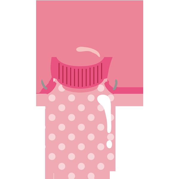 水筒(ピンク)