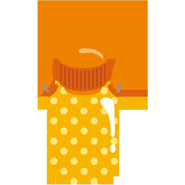 水筒(オレンジ)
