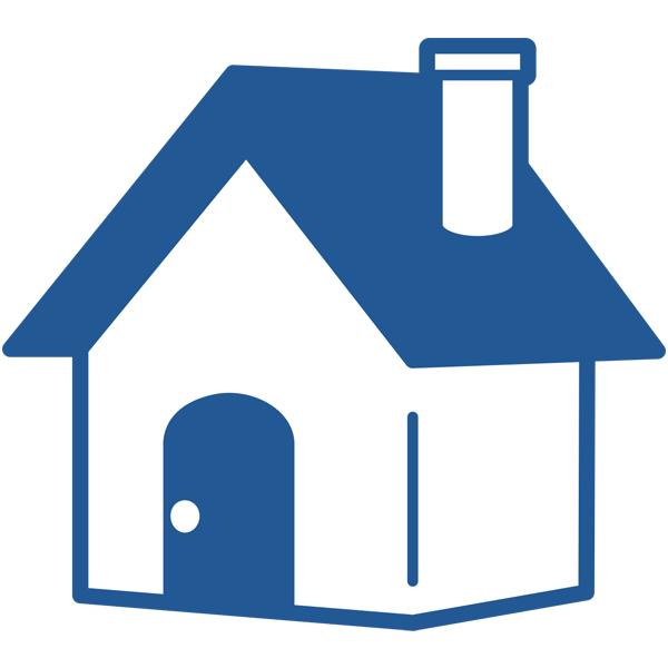 ビジネスアイコン ホーム 家(シンプル)