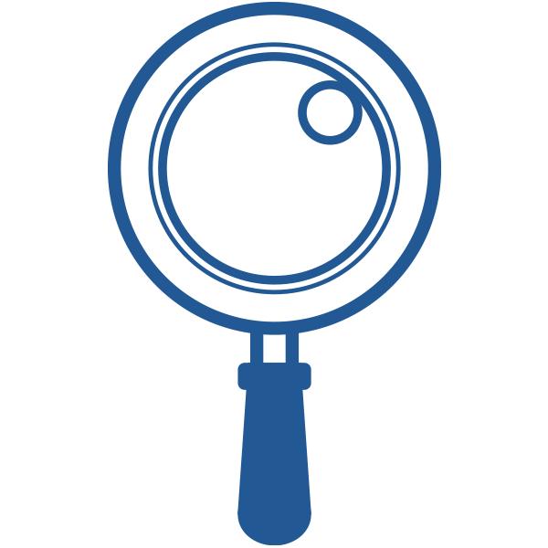 ビジネスアイコン サーチ 検索(シンプル)