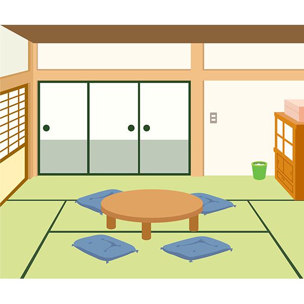 背景 和室