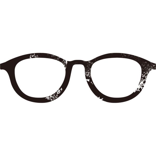 グランジ素材 メガネ