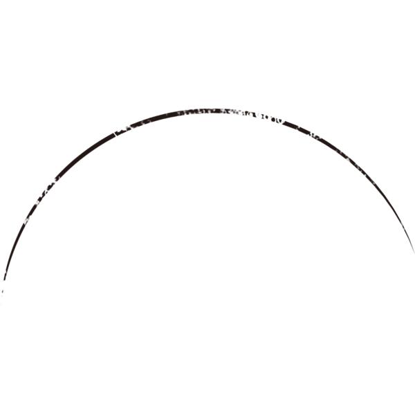 グランジ素材 カーブライン
