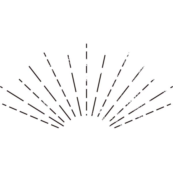 グランジ素材 光のライン