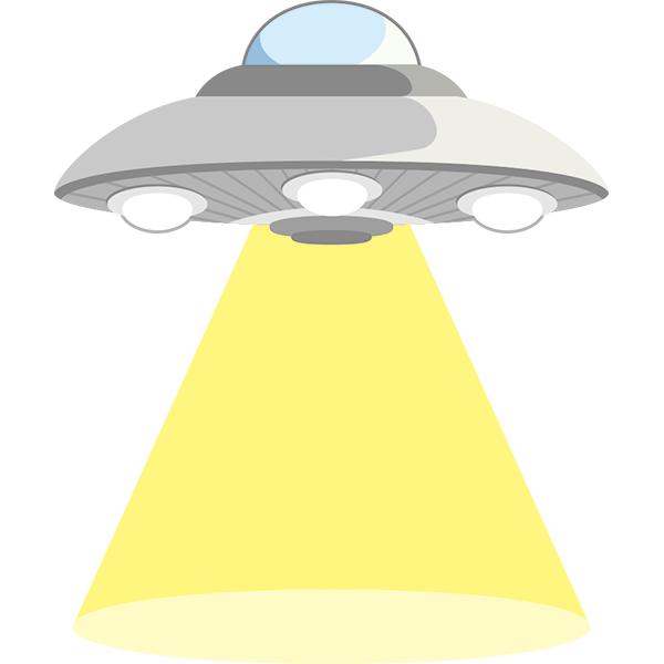 UFO 連れ去り 光