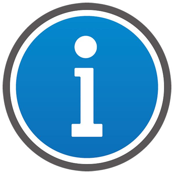 アイコン インフォメーション(ボタン・i・お知らせ・青)