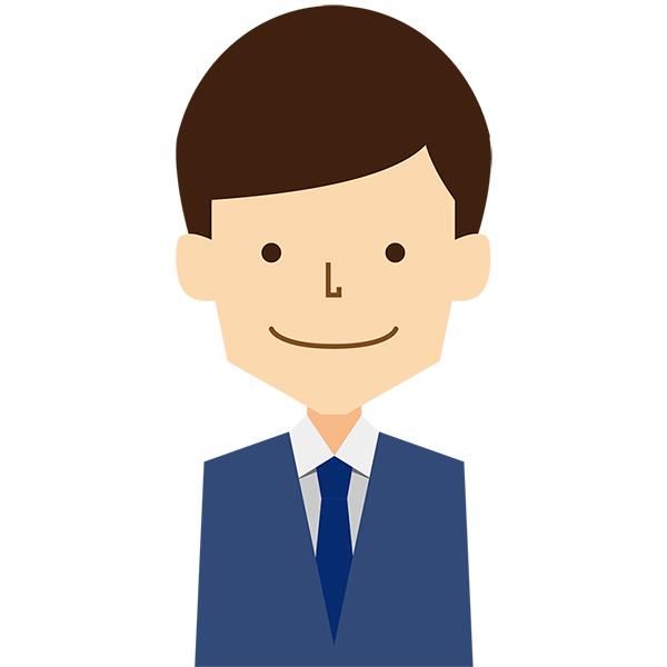 人物 男性(ビジネス・スーツ・笑顔)