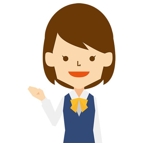 人物 女性(ビジネス・制服・案内)