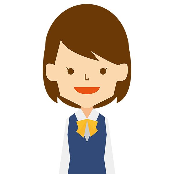 人物 女性(ビジネス・制服・笑顔)