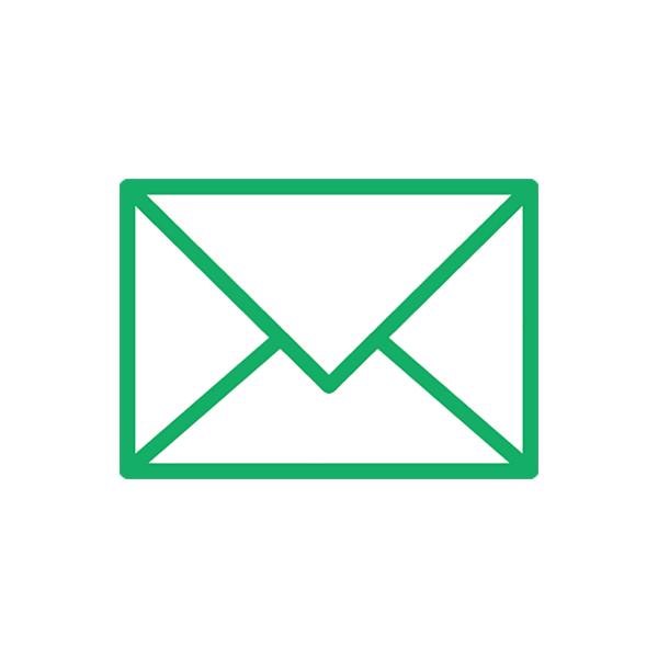 ビジネス メール(ピクトグラム・アイコン・手紙)