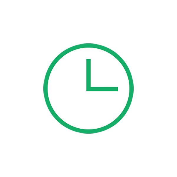 ビジネス 時計(ピクトグラム・アイコン・時間・クロック)