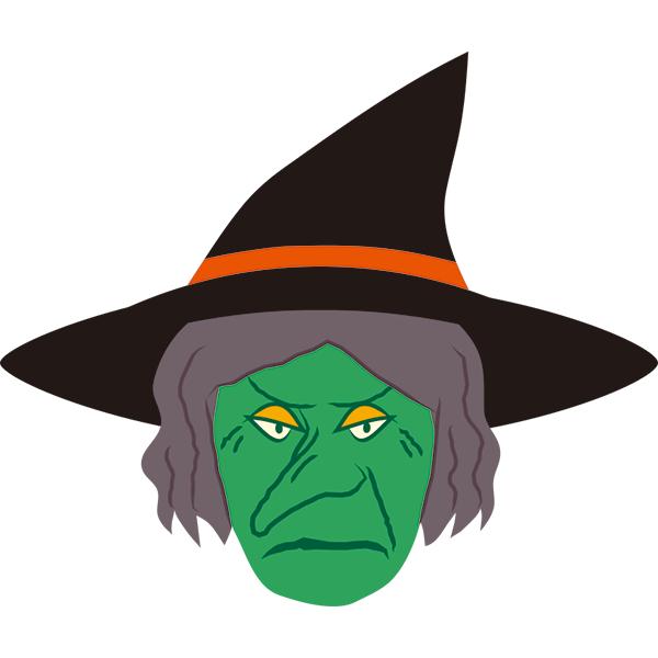 緑色の魔女