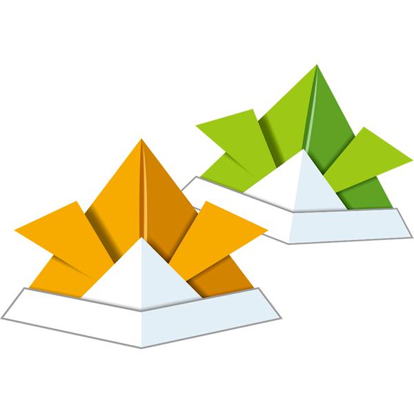 折り紙 兜(2色)