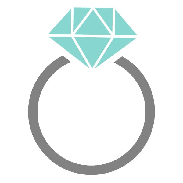 ブルーの指輪