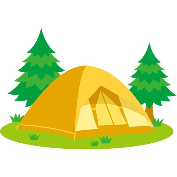 キャンプ 風景