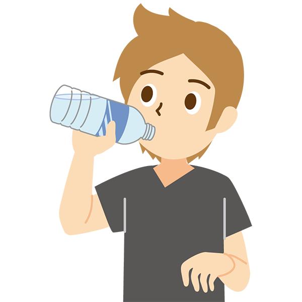 水分補給 男性