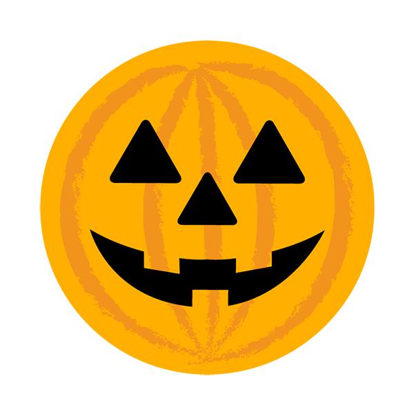 ハロウィン かぼちゃ 丸