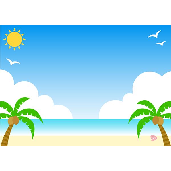背景画像 ビーチ 海