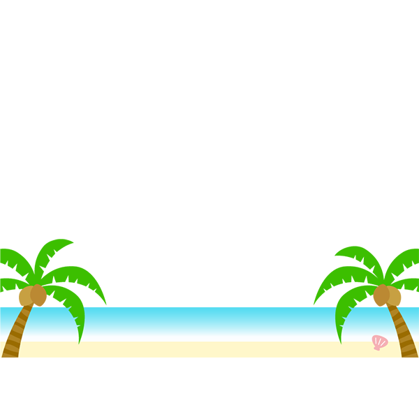 背景画像 ビーチ 海2
