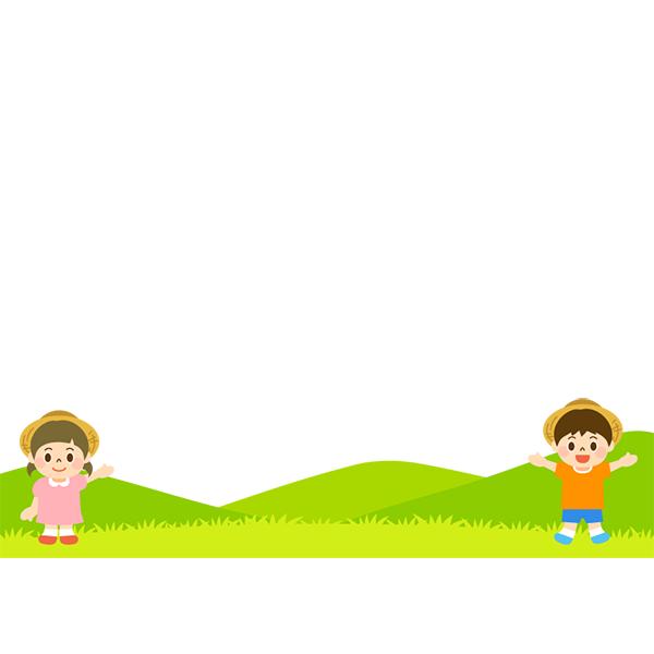 背景画像 夏の子どもたち2