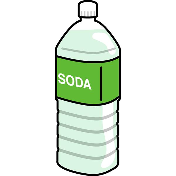 2Lペットボトル ソーダ