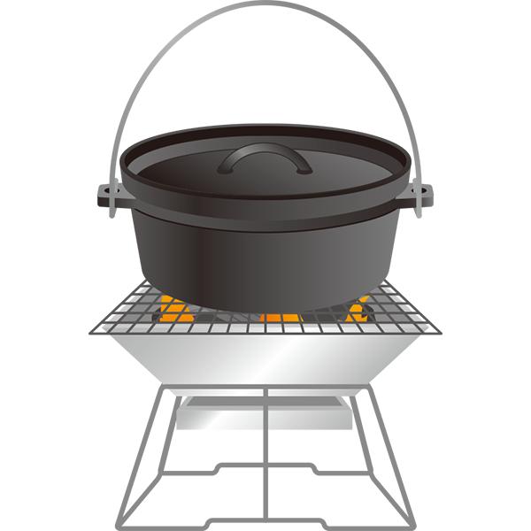 ダッチオーブン 焚き火台