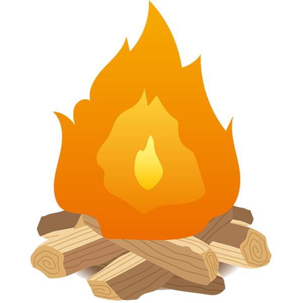 焚き火 薪