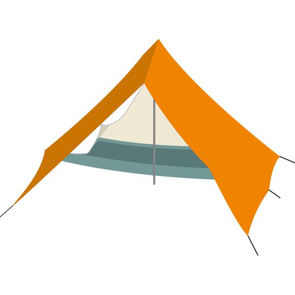 小さいテント
