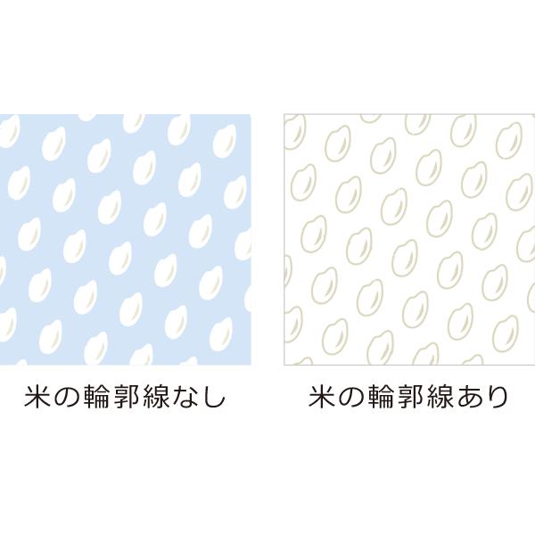 米 パターン柄