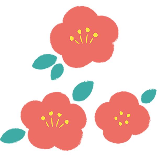 手書き花セット